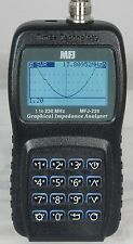 MFJ-226 1 to 230 MHZ Graphical Antenna Analyzer Impedance Analyzer