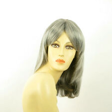 mid length wig for women gray ref: EDITH 51 PERUK