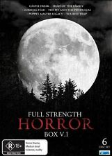 Full Strength Horror : Vol 1 (DVD, 2010, 6-Disc Set)