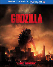 Godzilla (Blu-ray/DVD, 2014, 2-Disc Set)  No Digital Copy