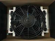 NEW TRANSMISSION OIL COOLER & FAN KIT DUAL PASS TH350 TH400 700r4