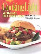 Cooki Book - Cooking Light Annual Recipes 2004 - Over 900 Delicious Recipes