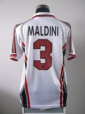 Paolo MALDINI #3 AC Milan Away Football Shirt Jersey 1997/98 (XL)