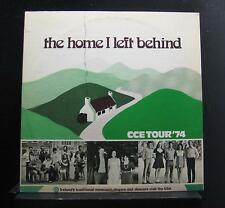 Comhaltas Ceoltoiri Eireann - The Home I Left Behind LP Mint- CL-9 Private Vinyl