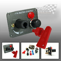 IGNITION ENGINE RACING PANEL WITH START PUSH BUTTON AND ISOLATION SWITCH