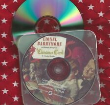 A CHRISTMAS CAROL CD Campbell Playhouse OTR 1939 Radio Show Lionel Barrymore