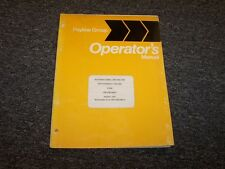 Case IH International 330 340 Dump Truck Owner Operator's Operator Manual Guide