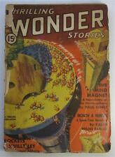 THRILLING WONDER DEC 1937 JOHN W CAMPBELL JR PAUL ERNST WILLY LEY ON ROCKETS