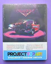 Christine Steelbook Bluray Italian Edition   *Region Free * New and Sealed