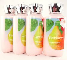 Bath Body Works 4 Pearberry Shea & Vitamin E Body Lotion 8oz 16 hr Moisture