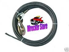 """3/8"""" x 75' WRECKER, TOW TRUCK , ROLLBACK, HAULER, WINCH CABLE - COMMERCIAL GRADE"""