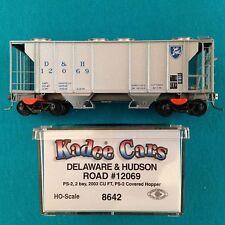 8642 Kadee HO Delaware & Hudson Covered Hopper NIB