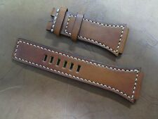 Bell & Ross BR-02 brown Santoni watch strap band Cheergiant hand made straps