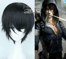 《The Graver Robbers' Chronicles》Natural Black Juvenile Male Short Cosplay Wig