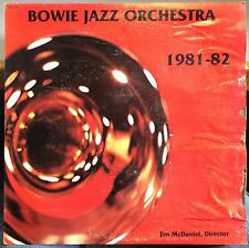 JAMES BOWIE JAZZ ORCHESTRA 1981 - 1982 LP VG+ Private Jazz Funk Psych Texas