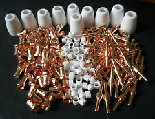 170pcs Extended long Tips Electrodes Plasma Cutter Consumables for PT-31 Torch