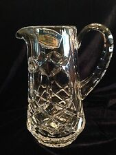 """Polonia Lead Crystal Made In Poland Pitcher Creamer 24% PbO, 5 1/2"""" Tall"""