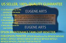 Epson T6710 T6711 Maintenance Tank Chip Resetter WP4525 WP4545 WP4521 etc, New