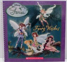 Scholastic Disney Tinker Bell Fairies FAIRY WISHES Activity Book by Sonia Sander