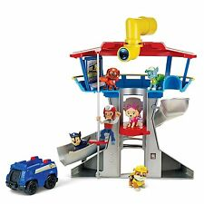 Nickelodeon, Paw Patrol Look-out Playset Vehicle & Figure - Brand New L8