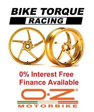Gold OZ Piega Wheels Ducati 1200 Monster/S 14-15 Interest Free Credit Available