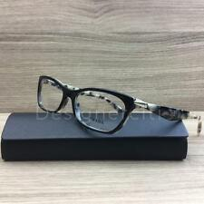 Prada VPR15P Eyeglasses Black Grey Havana ROK-1O1 Authentic 53mm