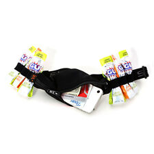 Spibelt Running Belt with Expandable Pocket and 6 Energy Gel Loops