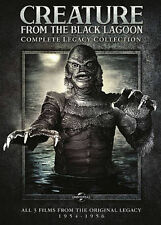 Creature from the Black Lagoon: Complete Legacy Collection, New DVDs