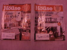 Vintage lot of 2 This Old House magazine OCT, NOV/DEC, 2013