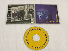 NICKELBACK - The State CD ORIGINAL 1999 INDIE COVER ART OOP yellow & blue RARE!