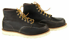 """Red Wing Men's 8890 Classic Moc 6"""" Boot Black Size 12 M New"""