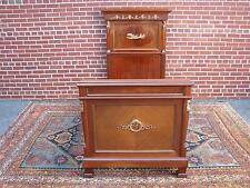 ANTIQUE LATE 19th CENTURY FRENCH EMPIRE REGENCY MAHOGANY TWIN BED DAYBED