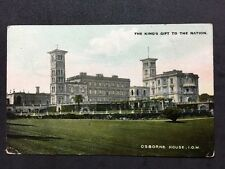 Vintage Postcard - Isle Of Wight #A6 - RP Osborne House Kings Gift To The Nation
