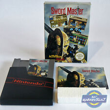 Sword Master - Nintendo NES Game PAL A UKV Boxed & Complete + FREE Box Protector