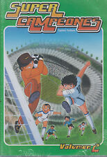 DVD - Super Campeones NEW Captain Tsubasa Vol. 2 / 6 Disc Set FAST SHIPPING!