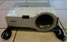 Epson PowerLite 400W 720p HD WXGA 3 LCD Projector, 1,060 Original hours