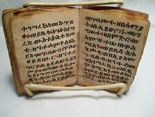 ETHIOPIAN COPTIC PRAYER BOOK- OLD!!