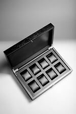 RAINER watch box for 8 watches made from solid wood! Brand new!