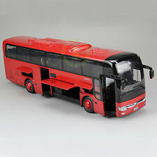 1:42 Scale Diecast Bus Car Models,YuTong Coach Bus Model,ZK6122H