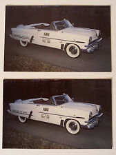1953 Ford Convertible Automobile Postcards - Must See!!