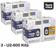 Touch 'n Seal 600 FR STANDARD Spray Foam Insulation Kit-4004520600-QTY of 3 Kits