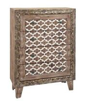Moroccan Style Wood Chest of Drawers/Nightstand Furniture/Bedroom,32'' x 44''H.