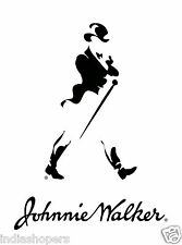 Indiashopers Johnnie Walker Windows, Sides, Hood, Bumper Car Sticker