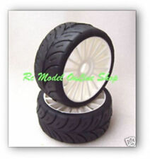 SP 1/8 Belted Racing Tires Med Wet/high speed Not GRP Kyosho GT/GT2 00180WS