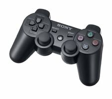 Original Sixaxis Dualshock 3 Sony Playstation 3 PS3 Wireless Controller Schwarz