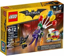 LEGO 70900 DC Batman Super Heroes The Joker Balloon Escape NEW MISB
