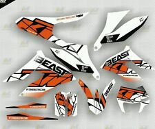 2012 - 2015 KTM freeride all models GRAPHICS KIT MOTOCROSS DECALS