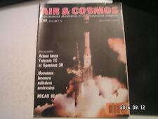 **a Air & Cosmos n°1182 Telecom 1C et Spacenet 3R / MICAD 88