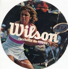 STICKER ADESIVO ELLESSE WILSON RACCHETTE DA TENNIS CHRIS EVERT TENNIS