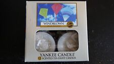 Yankee Candle Windblown Tealight Candles Set of 12 T/L Tea Lights New in Box